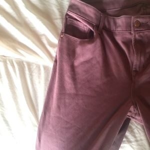 Mauve Rockstar Jeans | Old Navy